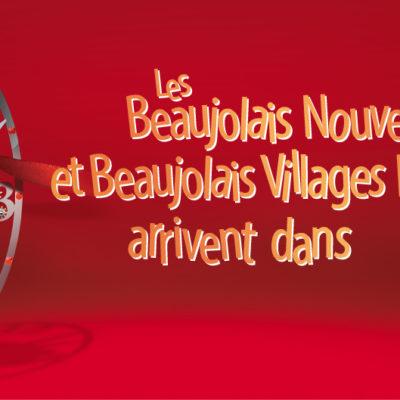Les Beaujolais nouveaux et villages arrivent