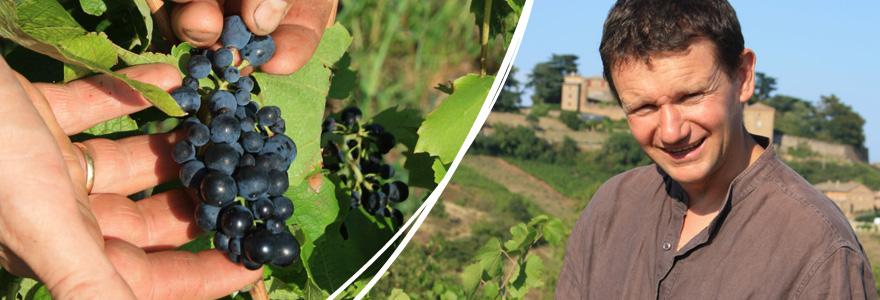 Vigneron du beaujolais Fellot