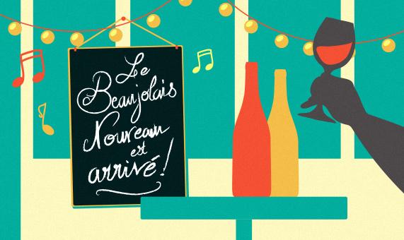 7 traditions autour des Beaujolais Nouveaux