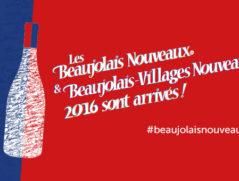 Affiche Beaujolais nouveaux 2016