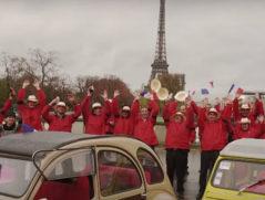 arrivée des beaujolais nouveaux 2016 à Paris