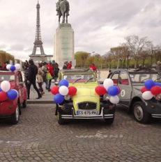 Arrivée Beaujolais Nouveaux 2016 à Paris