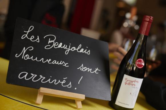 Les Beaujolais Nouveaux arrivent le 3e jeudi de novembre !